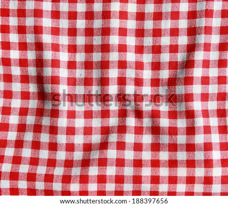 Texture Red White Checkered Picnic Blanket Stock Photo Edit Now Cool Picnic Blanket Pattern