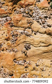 Texture of rocks in Cape Point area, South Africa