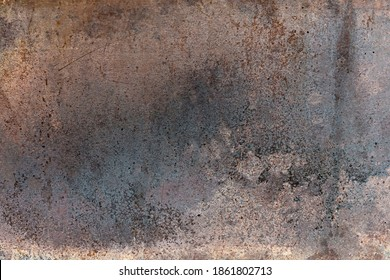 Texture of rough metal. Rusty cast iron surface texture.