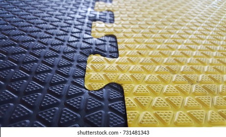 Texture of Rubber Floor in boxing gym