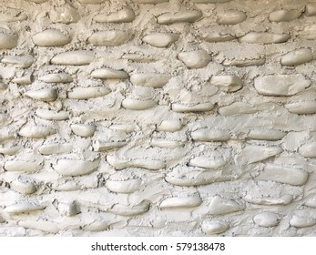 texture of rustic stone wall for background