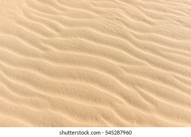 Texture of the sand dune in the desert of Qatar