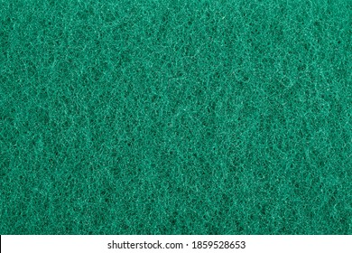 Texture of scouring pad, scrubbing pad close up background