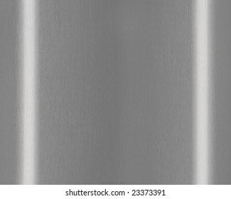 Texture of Shiny Brushed Steel