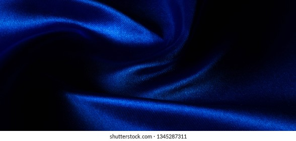 Texture, Silk fabric blue, Made just for the mood we will introduce you to the highest quality. This material comes with a trademark. Silk taffeta design and wallpaper of your creativity are waiting!