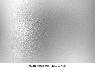 Texture of silver rough metallic panel, abstract background
