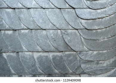 texture of slate tiles