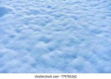 Texture from snow