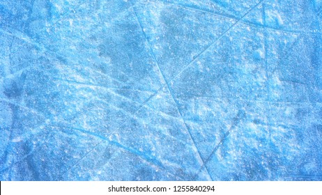the texture of the snow and ice background.