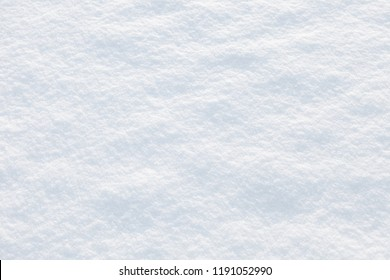texture of the snow on a sunny winter day