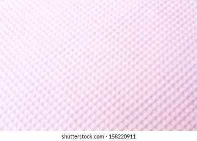 Texture of soft towel