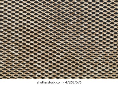 Texture of steel mesh and background