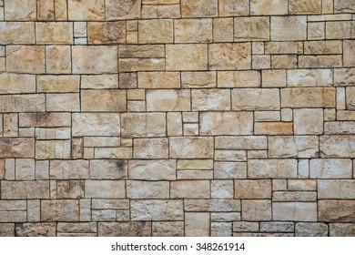 Texture stone block.