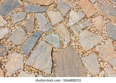 Texture of stone floor background