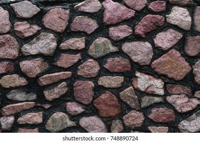 texture of a stone wall. quartzite. limestone