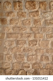 texture of stone wall sand color