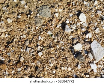 texture of stones and earth