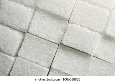texture of sugar cubes folded close to each other, rectangular shape