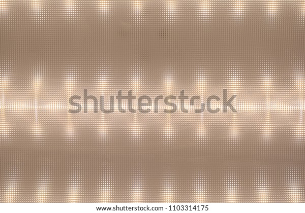 texture of the surface diffuser, LED Ceiling Light, light pattern on the deflector, abstract background