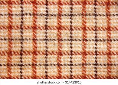 Texture of tartan design.