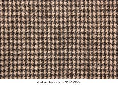Texture of tartan design cloth.