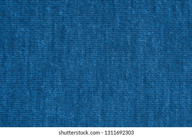 texture of textile material or jersey closeup for a monotonous background or for wallpaper of fashionable princess blue color