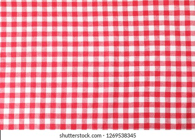 Texture of textile table napkin, closeup view