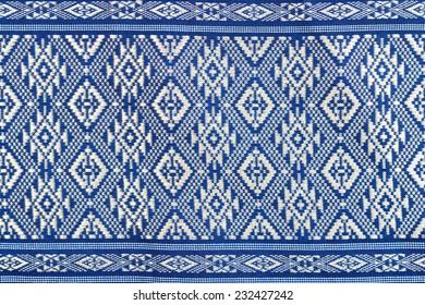 Texture of Thai silk pattern, Thailand textile style