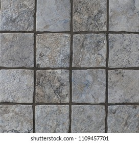 texture of a tile, pattern with a gray mosaic background, abstract geometry