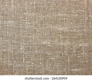the texture of unbleached sackcloth