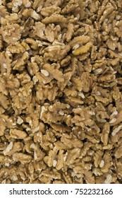 Texture of walnuts