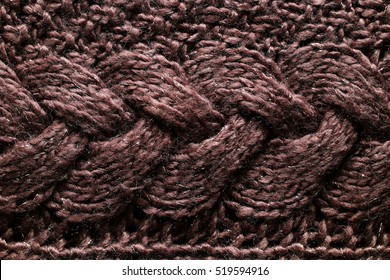 The texture of warm. wool, winter sweater with beautiful patterns.