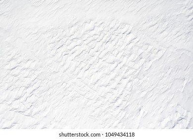 texture of a wave of blowing snow