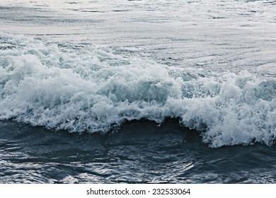 texture waves sea storm gray foam