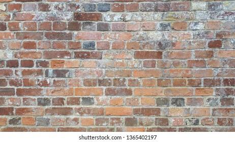 texture of weathered brick stones