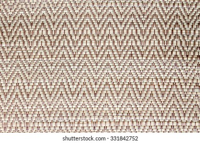 Texture of weave sedge mat background - made from papyrus