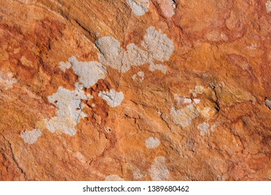 Texture of Western Australia. An aerial view of the Australian  outback.