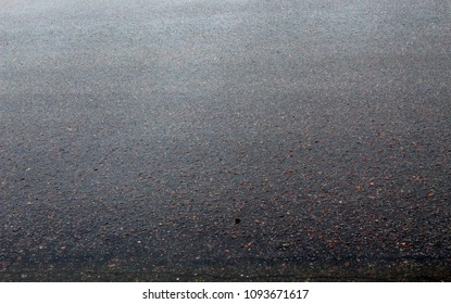 Texture of wet asphalt