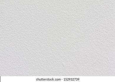 Texture of white cement wall.