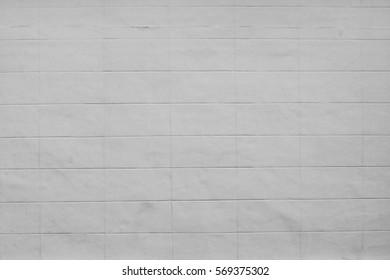 Texture of White Concrete Blocks, Concrete Background
