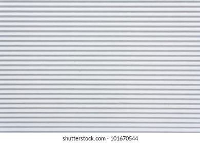 Texture of white corrugated paper for background used
