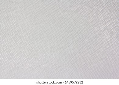 Texture of white natural leather with lines and bumps. Backdrop or background.