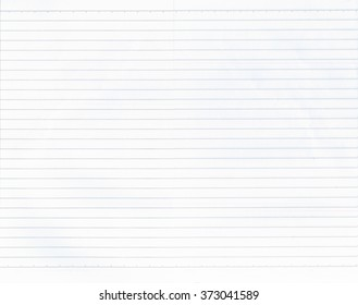 Texture of white note paper and have lines for design background.