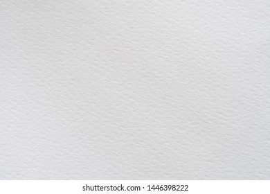 Texture of white paper for writing and paining background with copy space.
