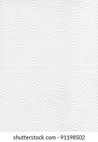 Texture of white tissue paper background