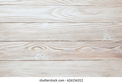 Texture white wooden background. top view. Horizont oientation. Rustik style.