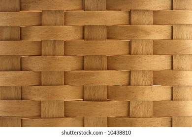 texture wicker basket wood close-up material brown