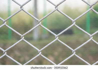 Texture of wire mesh