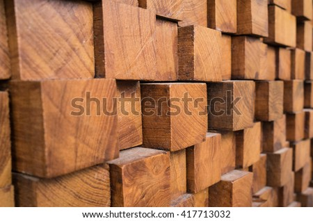 texture of wood block background