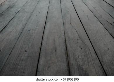 Texture of wood boards floor, wooden blackground